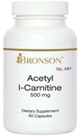 Nutritional Supplement Acetyl L- Carntine 500mg for Diabetic Neuropathy By Bronson – 287
