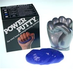 Power Putty hand strengthener with case, medium firm, blue