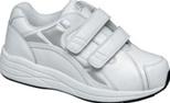 Women's Velcroed Athletic Diabetic Shoe by Drew - Motion V