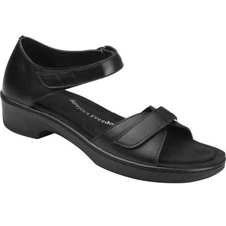 s diabetic dress shoe sandal by drew