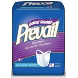Prevail Premium Belted Shields - Extra Absorbency
