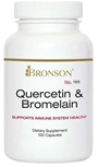 Nutritional Supplement Quercetin & Bromelain for Diabetic Neuropathy By Bronson – 195