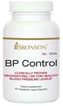 Nutritional Supplement BP Control for CardioVascular Health By Bronson – 355A