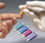 BD Lancets Smallest Gauge Ever 28g Microtainer Genie Lancets, Purple 200/box. - 366579