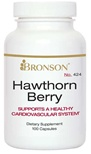 Nutritional Supplement Hawthorn Berry for CardioVascular Health By Bronson – 424