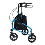 Lumiscope 3-wheel Walker Blue - 609201B