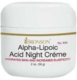 Acid alpha cream facial lipoic