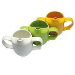 Wade 2 Handled Feeder Cup for Limited Hand Strength in Fine Earthenware