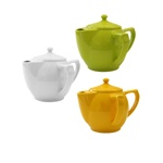Wade 2 Handled Teapot for Limited Hand Strength in Fine Earthenware