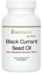Nutritional Supplement Black Currant Seed Oil 100 Softgels for Diabetic Neuropathy By Bronson – 847A