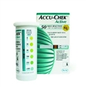 Blood glucose test strips Accu-check Active