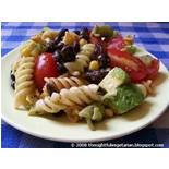Black Bean, Pasta, and Artichoke Heart Medley