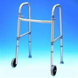 Adult Folding Walker with Glides