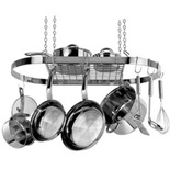 Range Kleen Stainless Steel Oval Pot Rack - CW6001