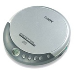 Coby CXCD109SVR CD Player