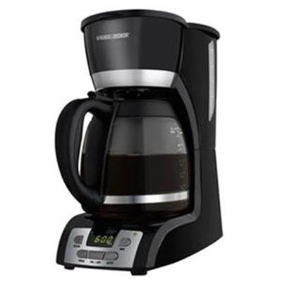 Black And Decker Coffee Maker Temperature : Black and Decker 12-cup Programmable Coffee Maker - DCM2160B