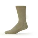 Ecosox Diabetic Bamboo Crew Socks Tan