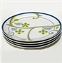 FOCUS Portion Control Plates (Set of 4), Porcelain China from Precise Portions