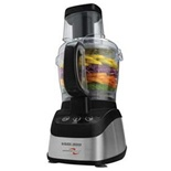 Black & Decker 600W Food Processor Black - FP2620S