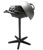 George Foreman Indoor/Outdoor BBQ Grill with Dome Cover