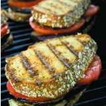 Grilled Eggplant Tomato Sandwiches