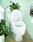 "Raised Toilet Seat (5"")"