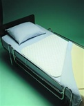 Waterproof Bedpad with Flap, 34in x 36in