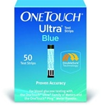One Touch Ultra Blood Glucose Test Strips (Bx100)
