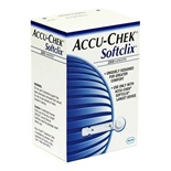 easy to blood test for diabetics with Softclix lancets 200 ct