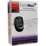 EasyMax N Blood Glucose FREE meter Kit & 200 Test Strips