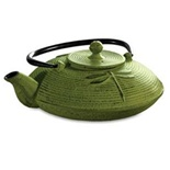 Primula Green Cast Iron Tea Pot - PCI5228