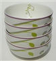 Portion Control Bowls, Porcelain China (set of 4) from Precise Portions