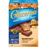 Glucerna Mini-Snack Bar Chocolate Peanut Flavor, 6 packs of 4 (cs24)