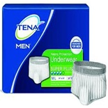 Tena Men's Super Plus Protective Underwear, All Sizes - Pack 16
