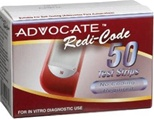 Advocate Redi-Code Testing Strips, 50ct.